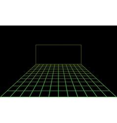 disco light dance floor vector image vector image