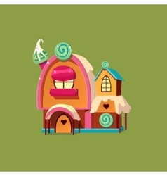 Cute Candy House vector image vector image