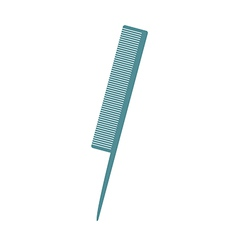 A toothcomb is placed vector