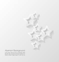 Abstract modern star background vector image