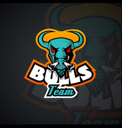bull logo template high resolution image vector image