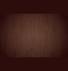 Dark wenge wood texture background vector