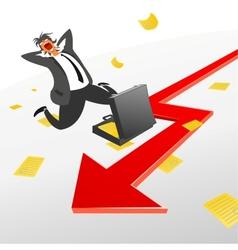 Exchange trade and securities vector image