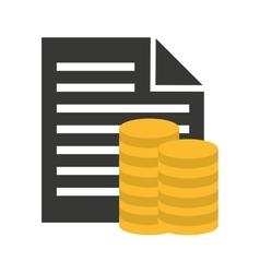 Money insurance economy icon vector