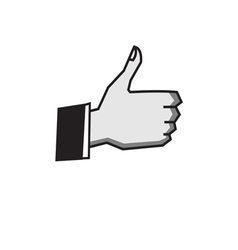 Okay hand sign vector
