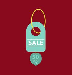 Sale banner template design 50 percent discount vector