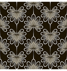 Seamless pattern graphic ornament vector image