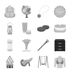 health beauty food and other web icon in vector image