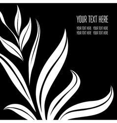 Back black 6 07 vector image