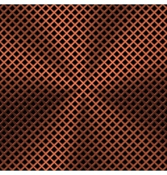 Background with Lozenge Pattern and Bronze Texture vector