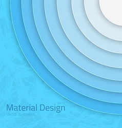 Bright colorful material design abstract circles vector