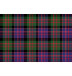 Macdonald tartan kilt fabric textile check pattern vector