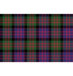 Macdonald tartan kilt fabric textile check pattern vector image