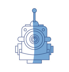 Robot funny toy vector