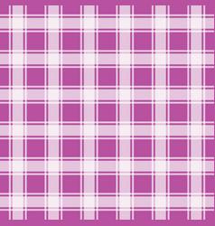 Violet gingham seamless pattern vector