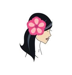 Hawaiian-Girl-380x400 vector image vector image