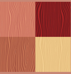 color set of parquet seamless pattern for design vector image