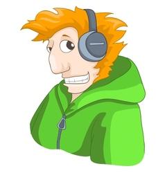 Cute Teenager vector image