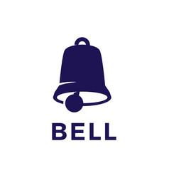 bell logo icon vector image
