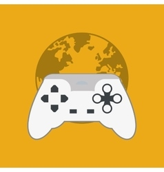 game design technology icon isolated vector image