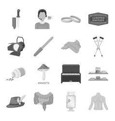 Hunting education art and other web icon in vector