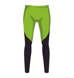 Male fitness pants vector