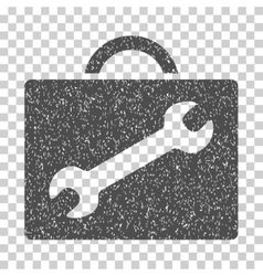 Repair Equipment Case Grainy Texture Icon vector