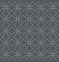 x seamless pattern vector image