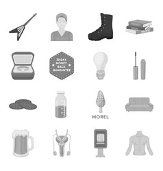 hunting triumph eating and other web icon in vector image vector image