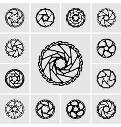 Rotors vector image