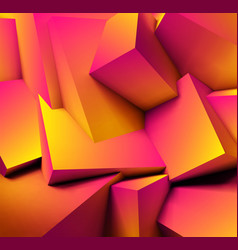 Abstract geometric background with overlapping vector