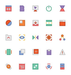 Design and Development Icons 7 vector