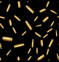 Different bullet seamless pattern vector