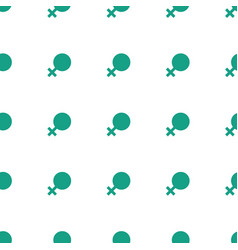 Female icon pattern seamless white background vector