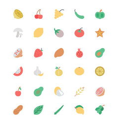 Fruit and Vegetable 2 vector