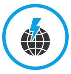 Global Shock Icon vector