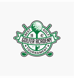 Golf club badge logo-3 vector