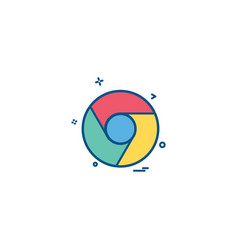 Google Chrome Icon Vector Images (41)
