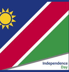 Namibia independence day vector