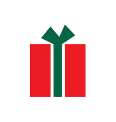 red and green package vector image