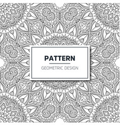 seamless ethnic and tribal pattern vector image