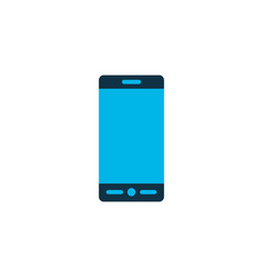smartphone icon colored symbol premium quality vector image