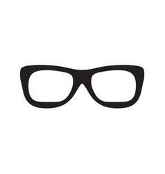 Sunglasses eyeglasses icon with trendy hand drawn vector