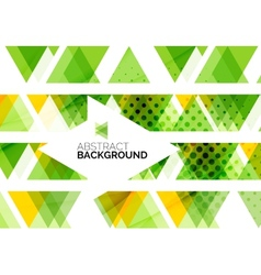 Triangles geometric clean abstract background vector