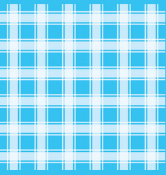 Turquoise gingham pattern seamless background vec vector