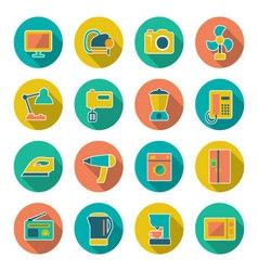 Technics icons vector image