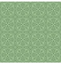 seamless ornamental flower pattern vector image