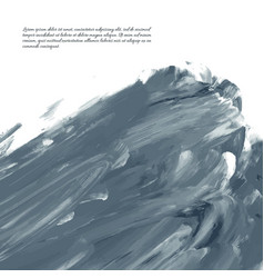dark gray watercolor vector image