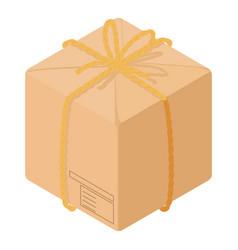 empty box icon isometric style vector image