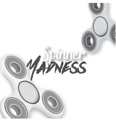 Fidget spinner gadget icon vector